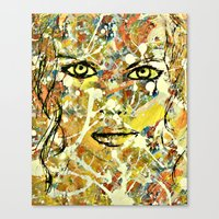 Abstract Stare Canvas Print