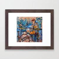 RHYTHMIC NOISE Framed Art Print