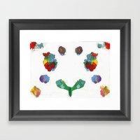 Beat Symmetry Framed Art Print