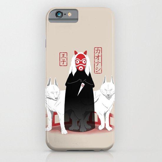 Ouji Kaonashi iPhone & iPod Case