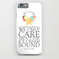 iPhone & iPod Case featuring The Ice Cream Club by Ivory Grand