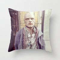 On Chain Throw Pillow