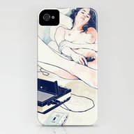 Nothing To Say iPhone (4, 4s) Slim Case