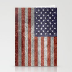 USA Flag - (high Quality… Stationery Cards