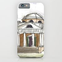 iPhone & iPod Case featuring Monticello by ArchiNERD