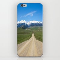Old Country Road iPhone & iPod Skin