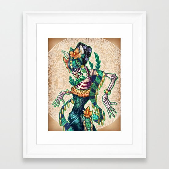 Dance of the Dead Framed Art Print