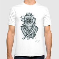 I Want My Mummy Mens Fitted Tee White SMALL