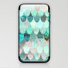 SUMMER MERMAID iPhone & iPod Skin