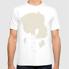 La Boudeuse White Mens Fitted Tee SMALL