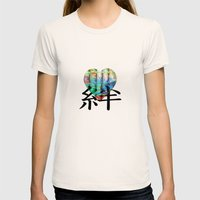 ABSTRACT - Friendship Womens Fitted Tee Natural SMALL