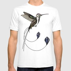 Hummingbird Mens Fitted Tee White SMALL