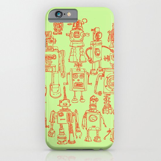 Robots! iPhone & iPod Case