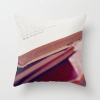 what happened Throw Pillow