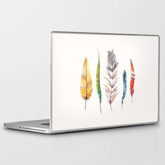 falling all around me Laptop & iPad Skin
