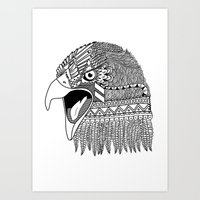 Indian Eagle Art Print