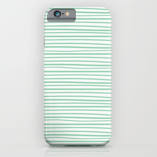 Sailor Tee - Mint iPhone & iPod Case