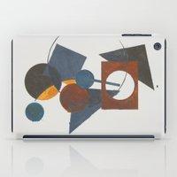 Constructivistic painting iPad Case