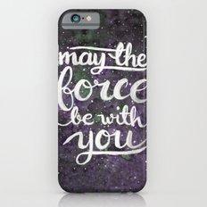 The Force - Violet iPhone 6 Slim Case