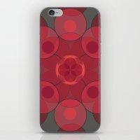 Circle Star 4x8 iPhone & iPod Skin