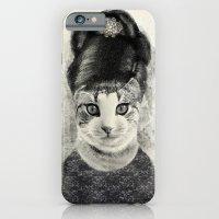 Audrey Cat iPhone 6 Slim Case