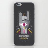 Frustrated Rocker iPhone & iPod Skin