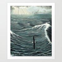 Oceanic Wanderer Art Print