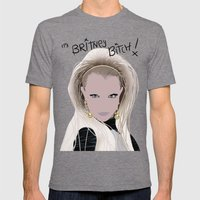 It's Britney Bitch! Digital Drawing Mens Fitted Tee Tri-Grey SMALL
