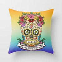 There Is More Time Than … Throw Pillow