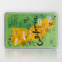 Postcard From California Laptop & iPad Skin