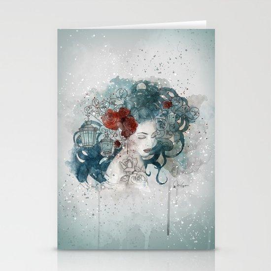 Blossom lights Stationery Card