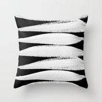 LE CHANT- BLACK Throw Pillow