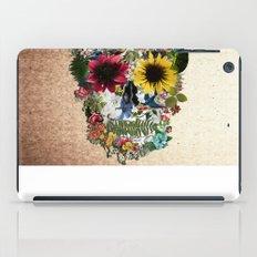 Skull flower iPad Case