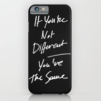 iPhone & iPod Case featuring The Same by WRDBNR