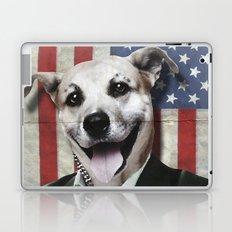 Patriotic Dog | USA Laptop & iPad Skin