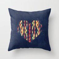 Interstellar Heart Throw Pillow
