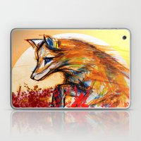 Fox in Sunset II Laptop & iPad Skin
