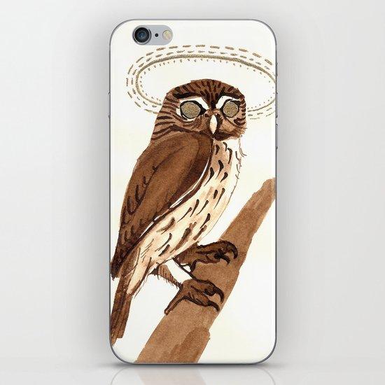 Owl Halo iPhone & iPod Skin