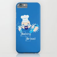 iPhone & iPod Case featuring Baking Bread Kawaii by DarkChoocoolat