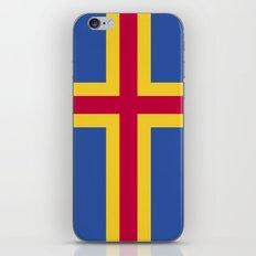 Åland Islands Flag iPhone & iPod Skin