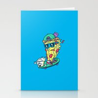 Pizza and Ranch Stationery Cards
