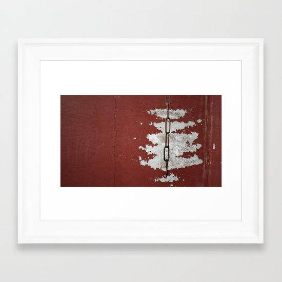 Links Framed Art Print