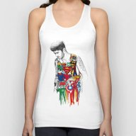 Zayn Superhero  Unisex Tank Top