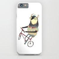 Deer on Bike.  iPhone 6 Slim Case