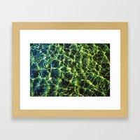 River Waters Framed Art Print
