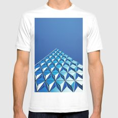 triangle swag White Mens Fitted Tee SMALL