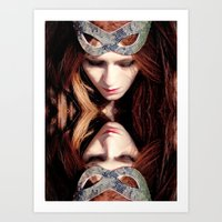 Reflects5 Art Print
