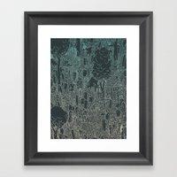 Enviro-mental Framed Art Print