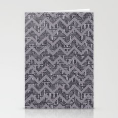 Busy Body Chevron Patter… Stationery Cards