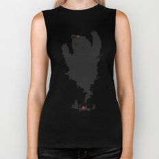 .. and There was Fire in its Eyes Biker Tank